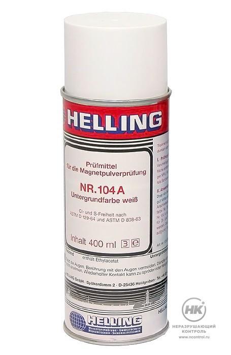 Белая фоновая краска HELLING NR 104 A