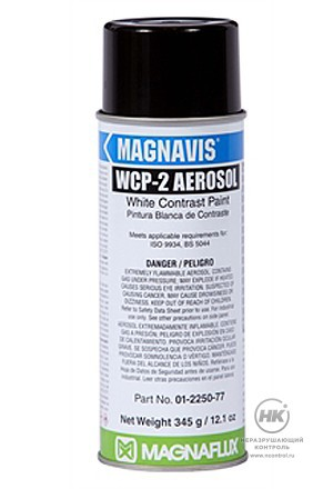 Белая контрастная краска Magnaflux WCP-2